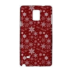 Merry Christmas Pattern Samsung Galaxy Note 4 Hardshell Case by Nexatart