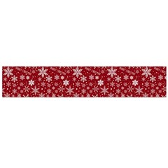 Merry Christmas Pattern Flano Scarf (large)