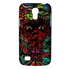 Abstract Psychedelic Face Nightmare Eyes Font Horror Fantasy Artwork Galaxy S4 Mini by Nexatart