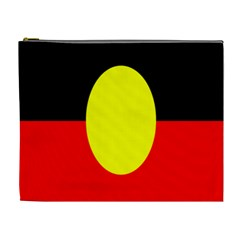 Flag Of Australian Aborigines Cosmetic Bag (xl) by Nexatart