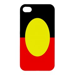 Flag Of Australian Aborigines Apple Iphone 4/4s Premium Hardshell Case