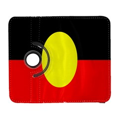Flag Of Australian Aborigines Galaxy S3 (flip/folio) by Nexatart