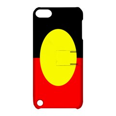 Flag Of Australian Aborigines Apple Ipod Touch 5 Hardshell Case With Stand by Nexatart
