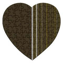Lines Jigsaw Puzzle (heart) by ValentinaDesign