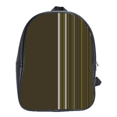Lines School Bags (xl)  by ValentinaDesign