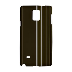 Lines Samsung Galaxy Note 4 Hardshell Case by ValentinaDesign