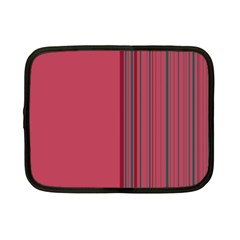 Lines Netbook Case (small)  by ValentinaDesign