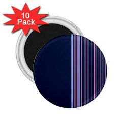Lines 2 25  Magnets (10 Pack)  by ValentinaDesign
