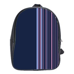Lines School Bags(large)  by ValentinaDesign