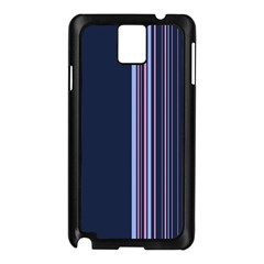 Lines Samsung Galaxy Note 3 N9005 Case (black) by ValentinaDesign
