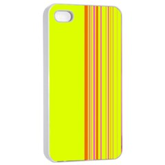 Lines Apple Iphone 4/4s Seamless Case (white) by ValentinaDesign