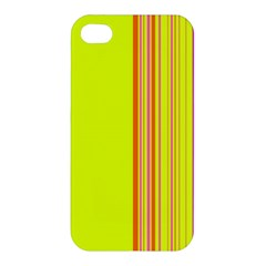 Lines Apple Iphone 4/4s Premium Hardshell Case by ValentinaDesign