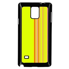 Lines Samsung Galaxy Note 4 Case (black) by ValentinaDesign