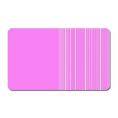 Lines Magnet (rectangular) by ValentinaDesign