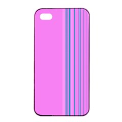 Lines Apple Iphone 4/4s Seamless Case (black) by ValentinaDesign