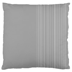 Lines Large Cushion Case (two Sides) by ValentinaDesign