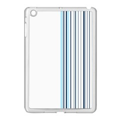 Lines Apple Ipad Mini Case (white) by ValentinaDesign
