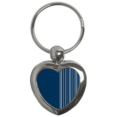Lines Key Chains (heart)  by ValentinaDesign