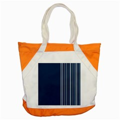 Lines Accent Tote Bag by ValentinaDesign