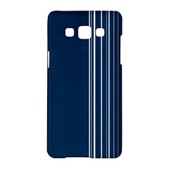 Lines Samsung Galaxy A5 Hardshell Case  by ValentinaDesign