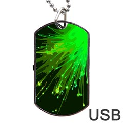 Big Bang Dog Tag Usb Flash (two Sides) by ValentinaDesign