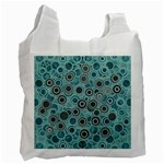 Abstract Aquatic Dream Recycle Bag (One Side) Front