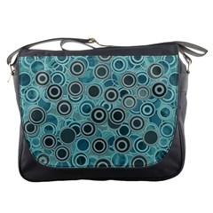 Abstract Aquatic Dream Messenger Bags by Ivana