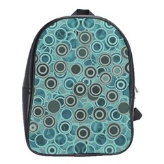Abstract Aquatic Dream School Bags (xl)
