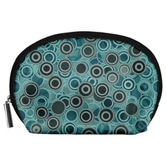 Abstract Aquatic Dream Accessory Pouches (large)  by Ivana