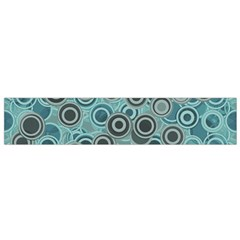Abstract Aquatic Dream Flano Scarf (small) by Ivana
