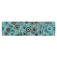 Abstract Aquatic Dream Satin Scarf (oblong) by Ivana