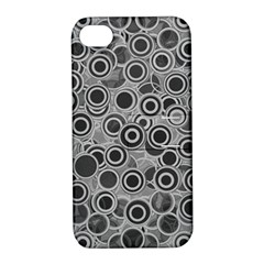 Abstract Grey End Of Day Apple Iphone 4/4s Hardshell Case With Stand by Ivana