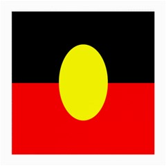 Flag Of Australian Aborigines Medium Glasses Cloth by Nexatart