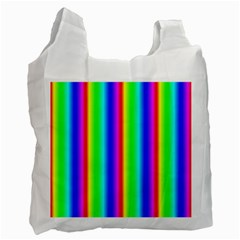 Rainbow Gradient Recycle Bag (one Side)