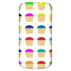 Colorful Cupcakes Pattern Samsung Galaxy S3 S Iii Classic Hardshell Back Case by Nexatart