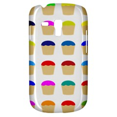 Colorful Cupcakes Pattern Galaxy S3 Mini by Nexatart