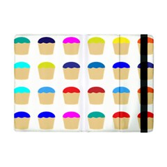 Colorful Cupcakes Pattern Ipad Mini 2 Flip Cases