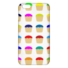 Colorful Cupcakes Pattern Iphone 6 Plus/6s Plus Tpu Case by Nexatart