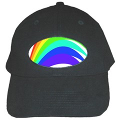 Rainbow Black Cap by Nexatart