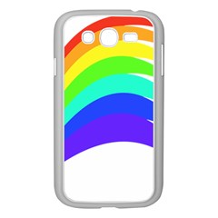 Rainbow Samsung Galaxy Grand Duos I9082 Case (white) by Nexatart