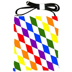 Rainbow Flag Bavaria Shoulder Sling Bags