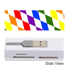 Rainbow Flag Bavaria Memory Card Reader (stick)