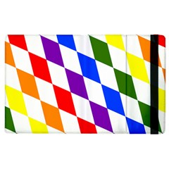 Rainbow Flag Bavaria Apple Ipad 2 Flip Case by Nexatart