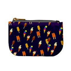 Seamless Ice Cream Pattern Mini Coin Purses by Nexatart
