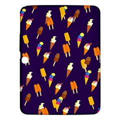 Seamless Ice Cream Pattern Samsung Galaxy Tab 3 (10 1 ) P5200 Hardshell Case  by Nexatart