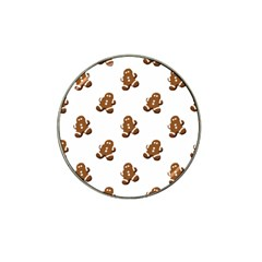 Gingerbread Seamless Pattern Hat Clip Ball Marker (4 Pack)