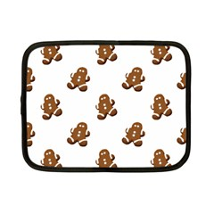 Gingerbread Seamless Pattern Netbook Case (small)  by Nexatart