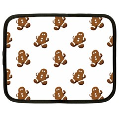 Gingerbread Seamless Pattern Netbook Case (xxl)  by Nexatart