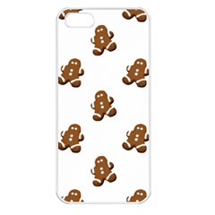 Gingerbread Seamless Pattern Apple Iphone 5 Seamless Case (white) by Nexatart