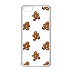 Gingerbread Seamless Pattern Apple Iphone 5c Seamless Case (white) by Nexatart